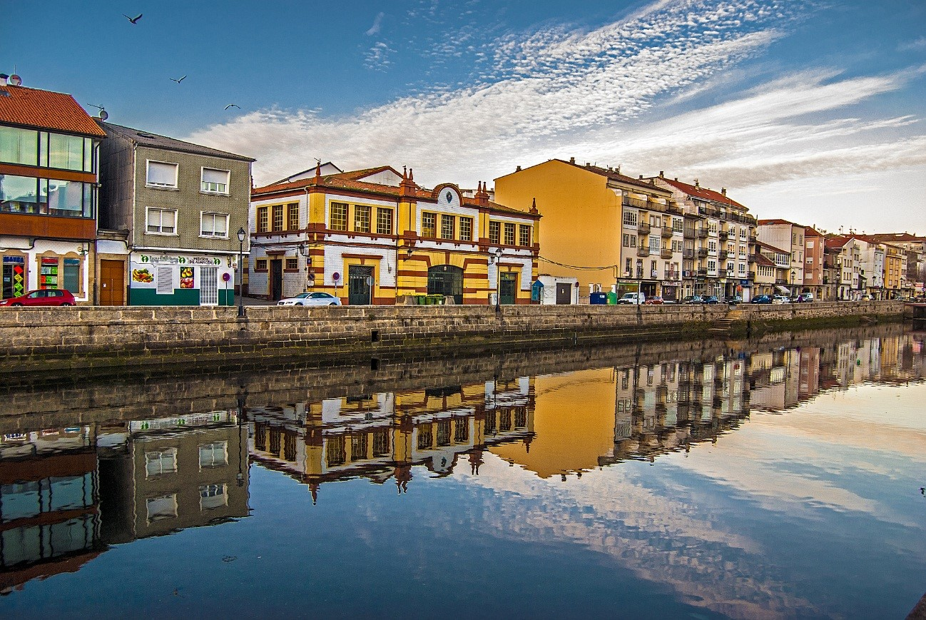 Qué ver en Galicia: Reflejos en Noia