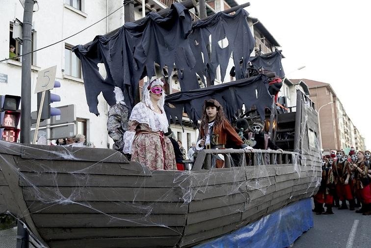 Gran Desfile Carnaval marinero de Santurtzi