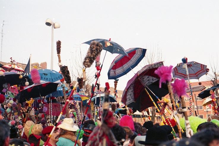 Paraguas Carnaval Dunkerque-Foto de fdecomite