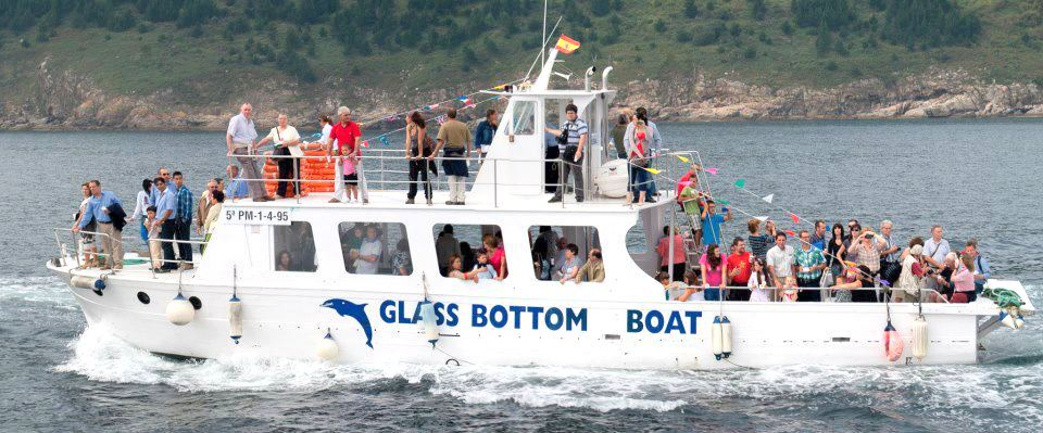 Paseo en barco Finisterre Corcubion