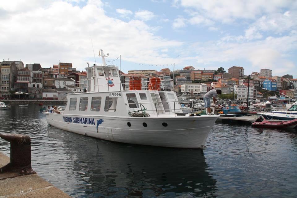 Paseo en barco Finisterre