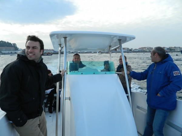 Taller de pesca Ría de Arousa