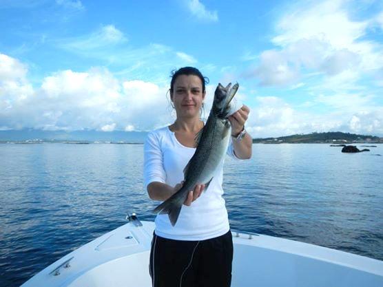 pesca en la ría de Arousa