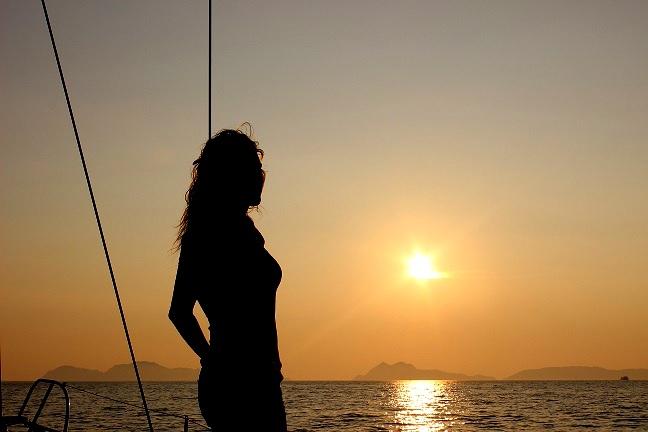 Escapada romántica en velero