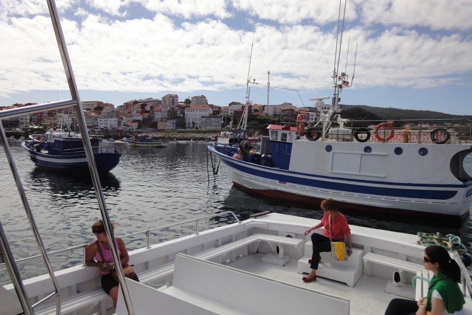 barcos de pesca Finisterre