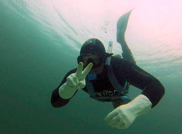 foto snorkel Illa de Arousa