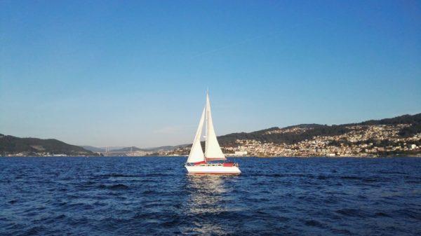 paseo en velero Vigo