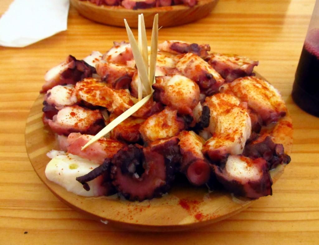 Fiestas gastronómicas de julio pulpo