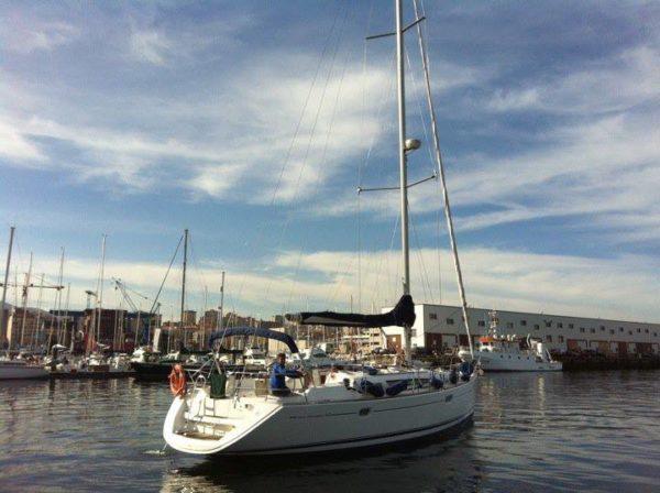 Ruta en velero por la Ría de Vigo