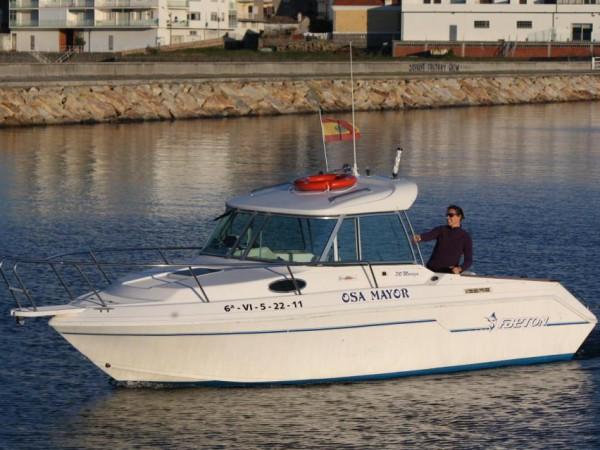 Subida en barco por el Río Ulla