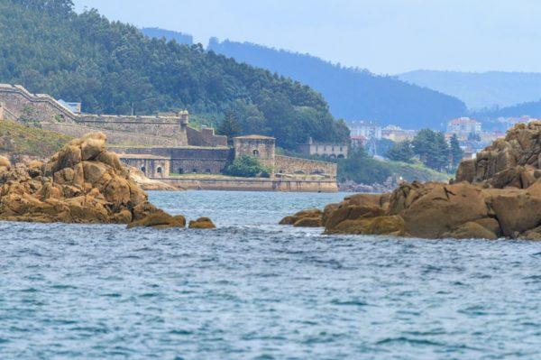 Castillo de San Felipe Ría de Ferrol