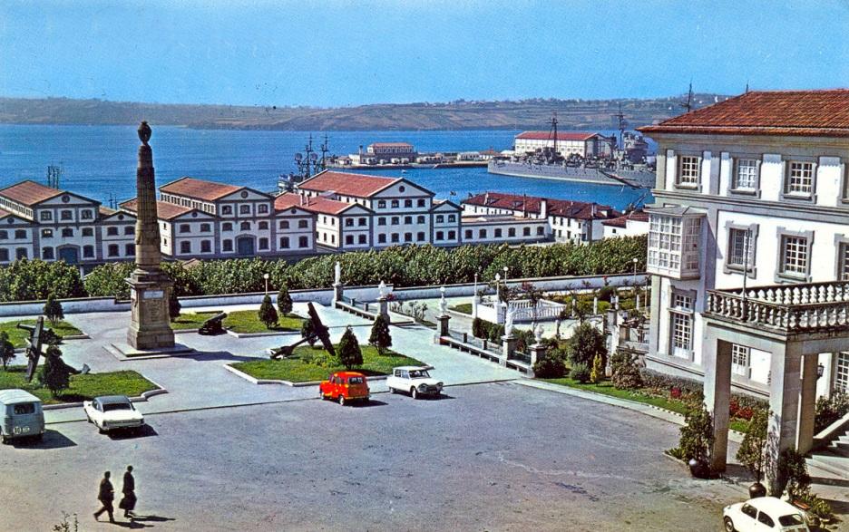Capitania y arsenal militar de Ferrol