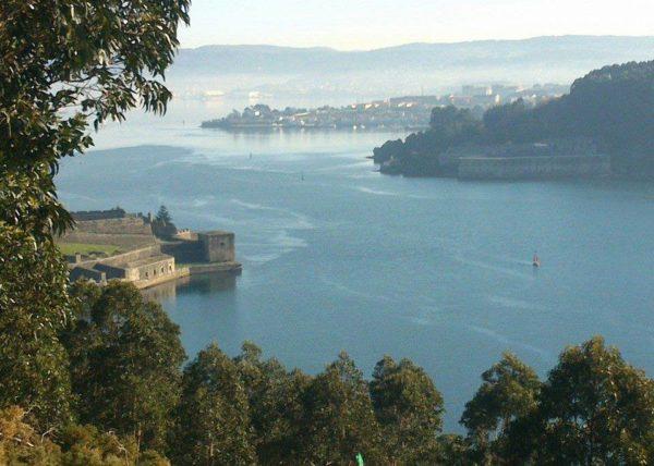 Ría de Ferrol Castillo de San Felipe