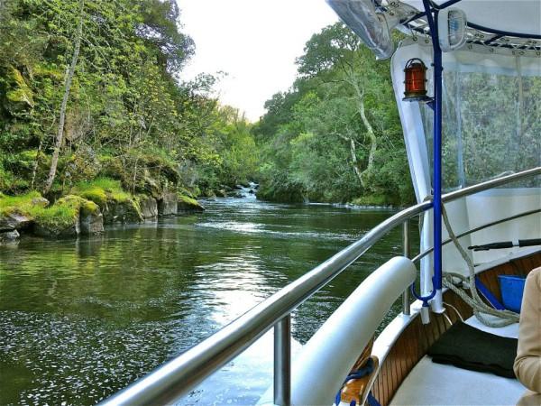 Cañones río Sil en barco