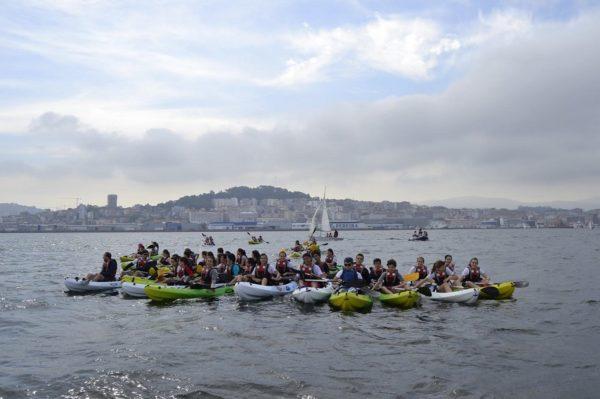 Kayak Ria de Vigo
