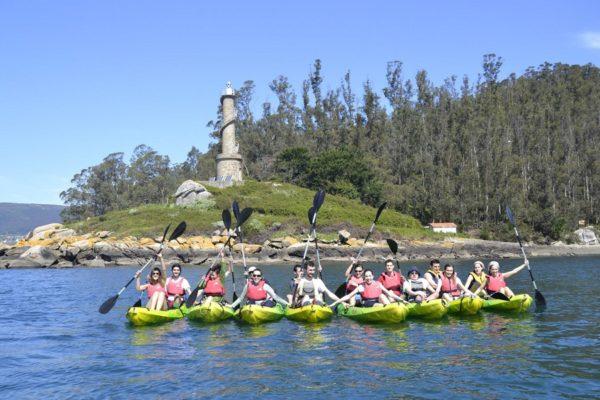 Kayak Ría de Pontevedra