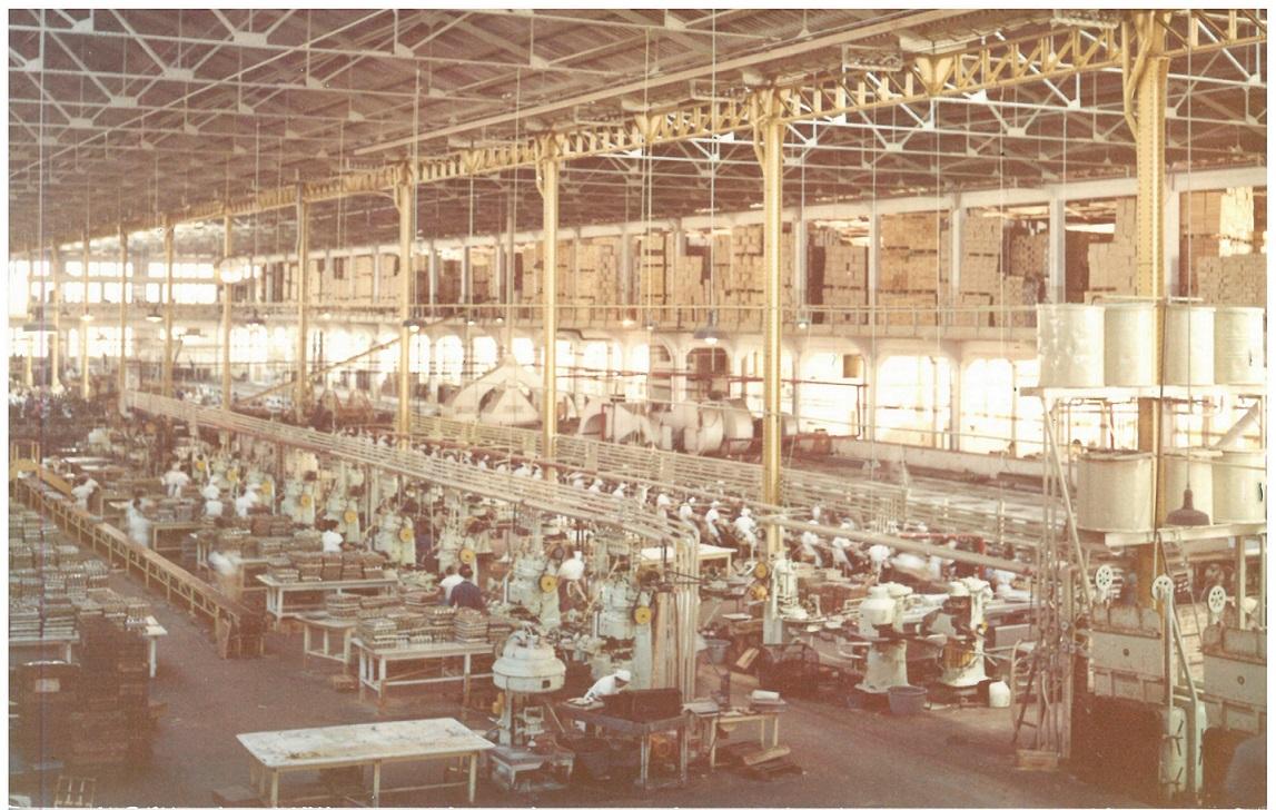 Fábrica Massó en Cangas