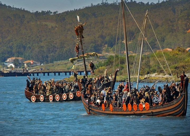 Fiesta vikinga Catoira