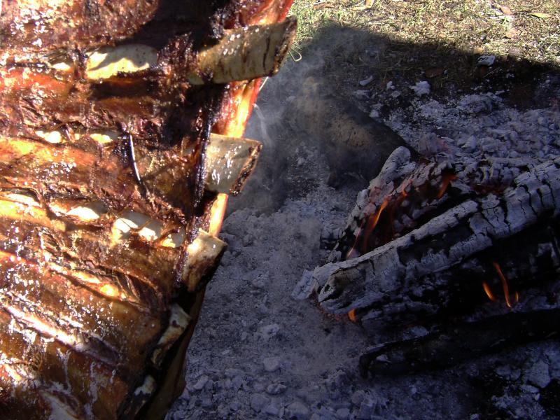 fiestas gastronómicas de agosto Costillar a estaca