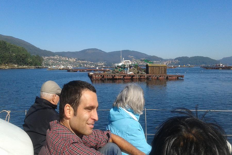 paseo por la Ría de Vigo