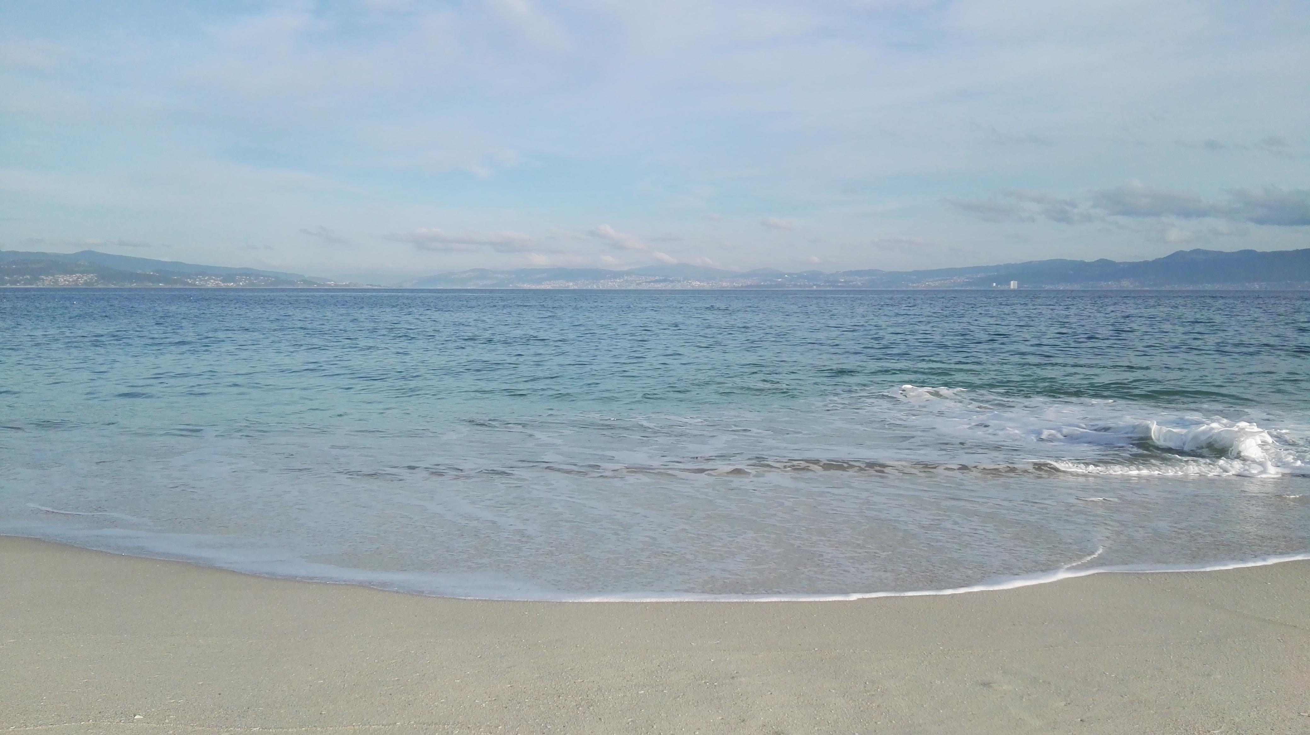 marea en Cíes