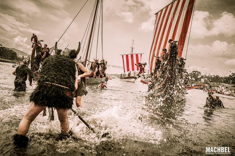 Romería Vikinga de Catoira, Rias Baixas, Galicia by machbel