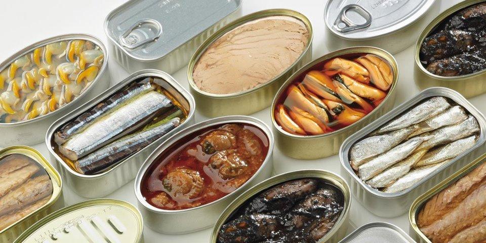 Conservas de pescado de Galicia