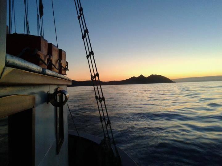 paseo en barco vigo