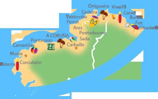 playas Rias altas
