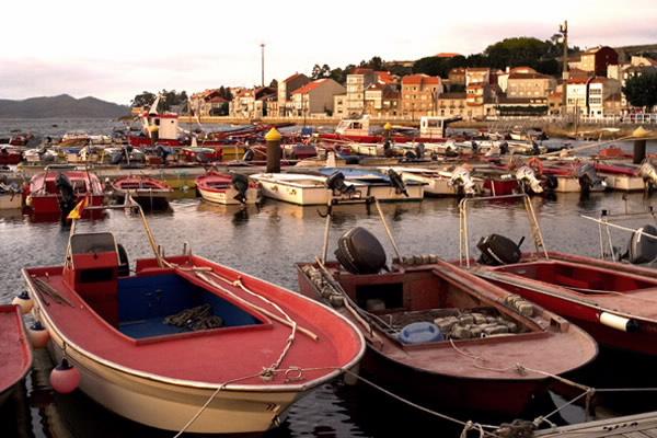 Puerto pesquero de Carril