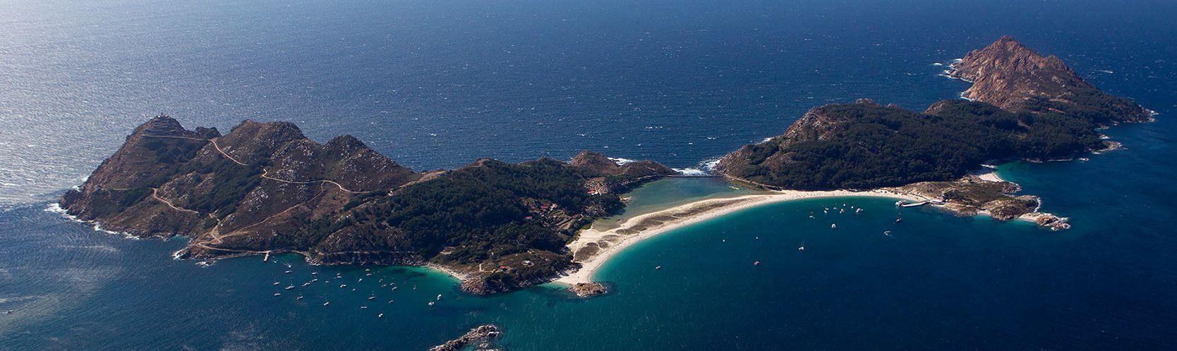 Qué ver en la costa de Pontevedra. Cíes