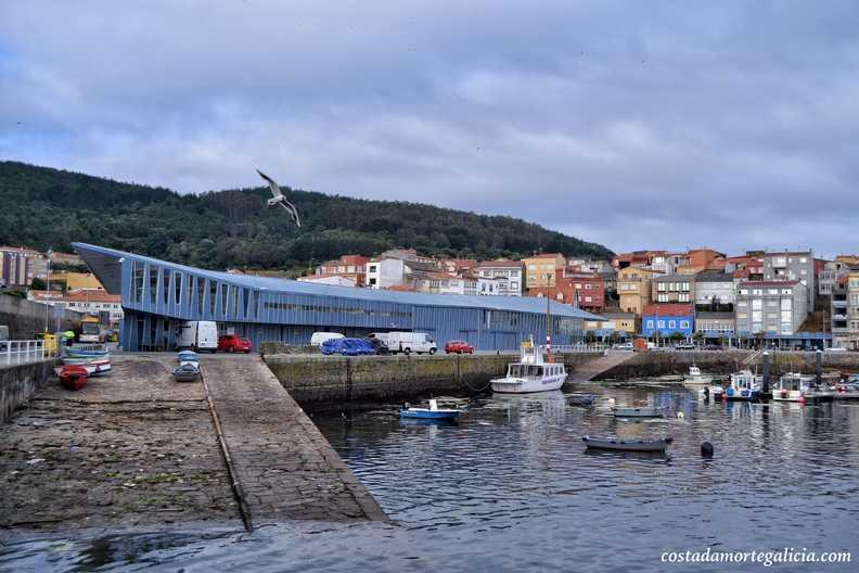 que ver en la costa de A Coruña lonja de fisterra