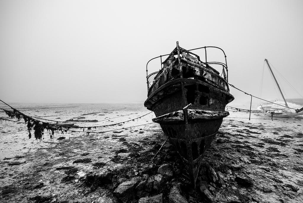 Cementario de barcos - Saint-Malo