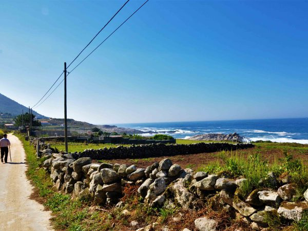 Camiño Santiago da Costa.