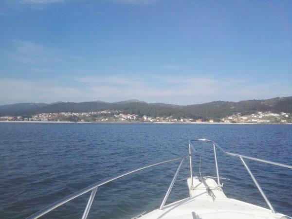 Ruta de las playas en barco por la ría de Muros-Noia