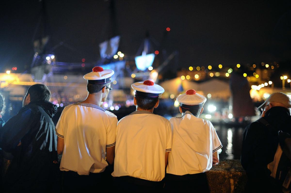 Fiesta marineras Marineros
