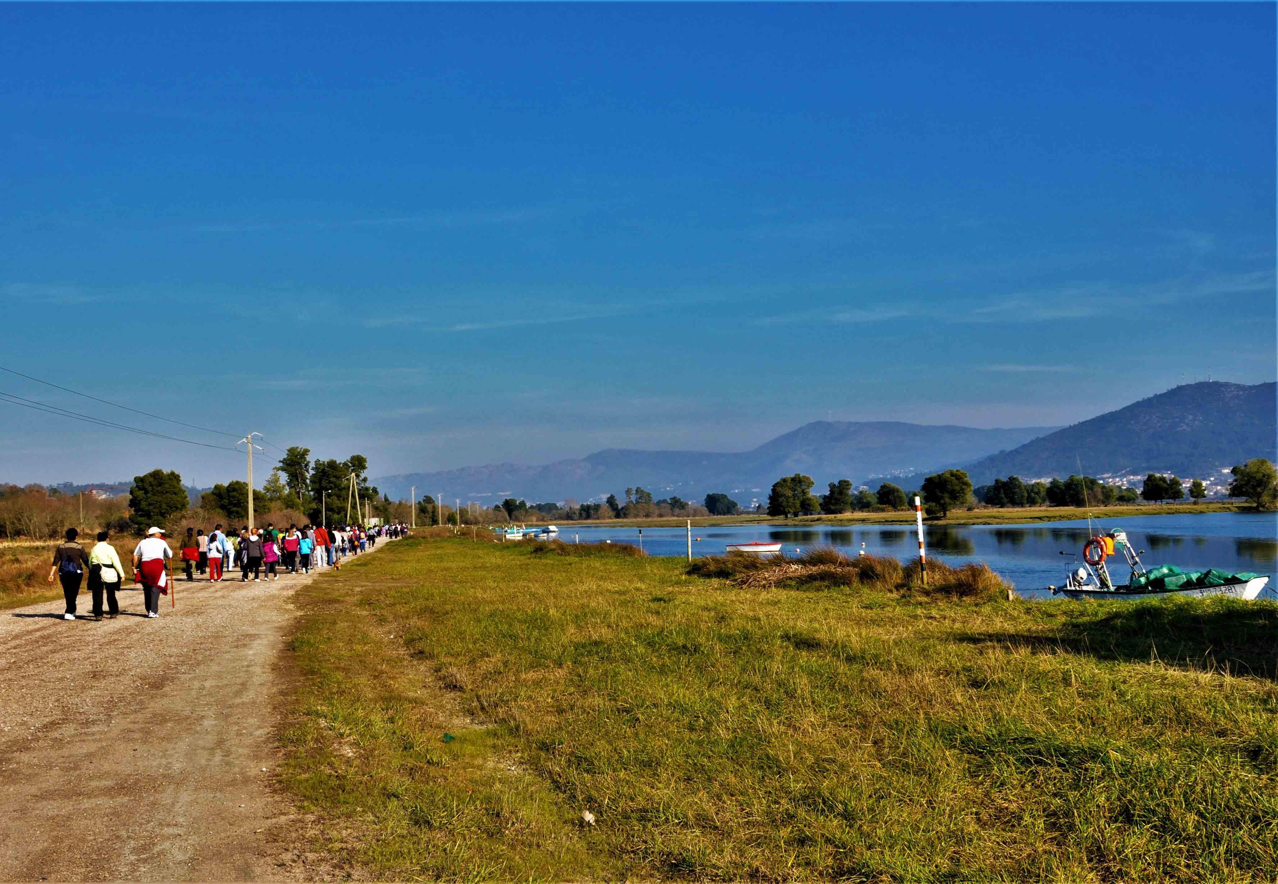 Sendeiro Pescadores Paseo Río Miño