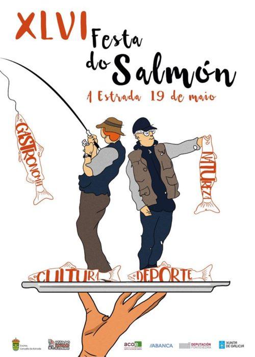 festa do salmon a estrada 2019