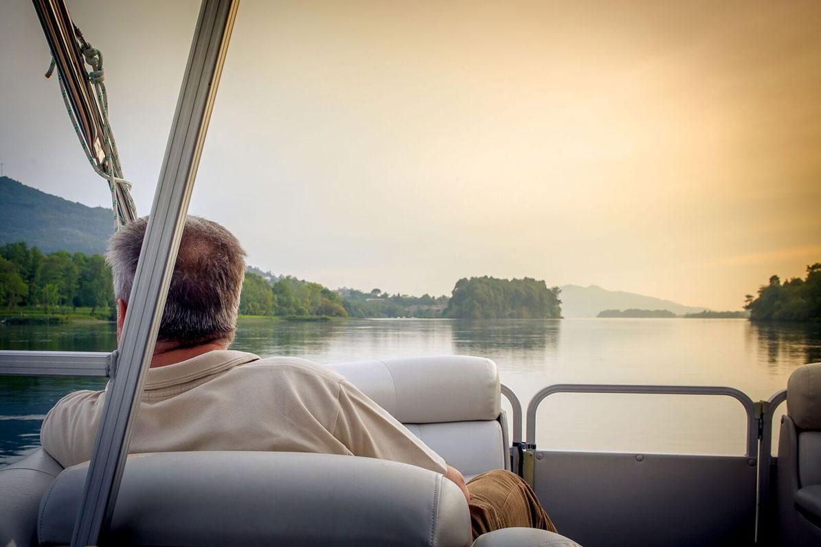 paisaje paseo en barco por el Miño