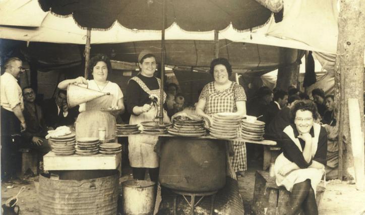 pulpeiras carballiño 1950