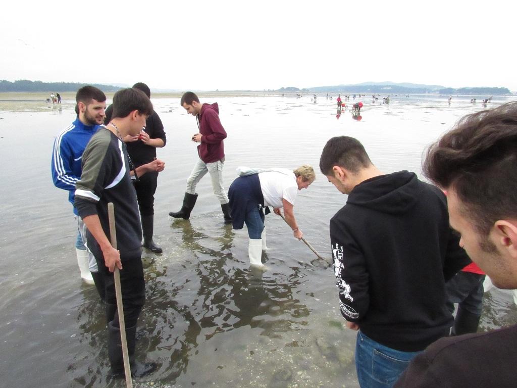 Teambuilding marisqueo