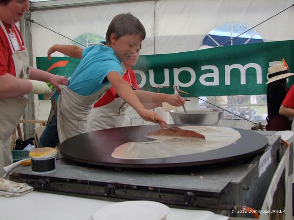 Fiestas gastronómicas de la Bretaña Francesa crepe