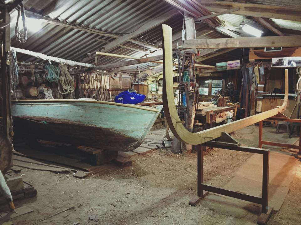 carpintería de ribeira oficios marineros
