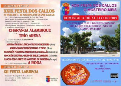 Festa dos callos O Mosteiro - Meis 2019