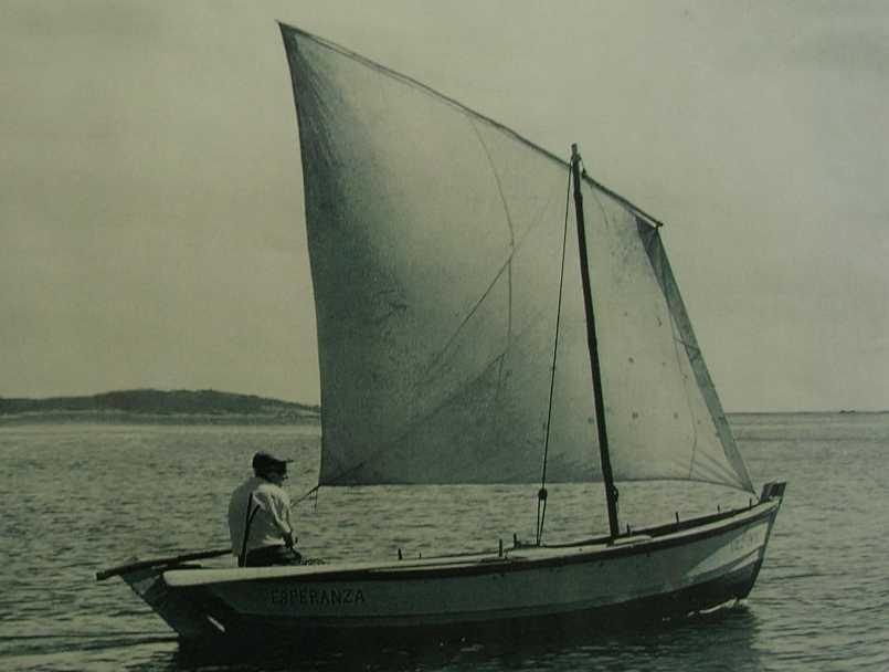 embarcaciones tradicionales gamela
