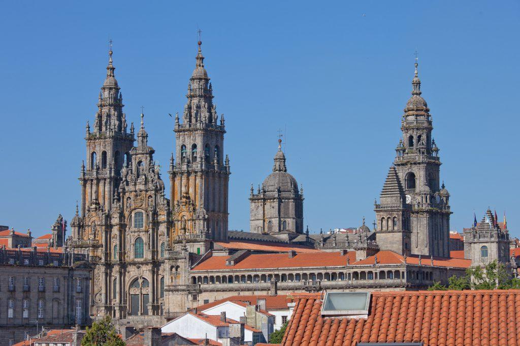 catedral santiago camino portugués por la costa