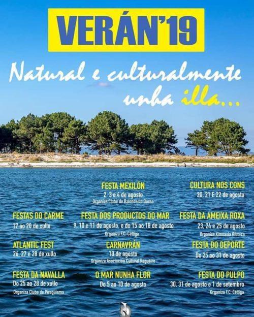 Festas gastronómicas Illa Arousa 2019