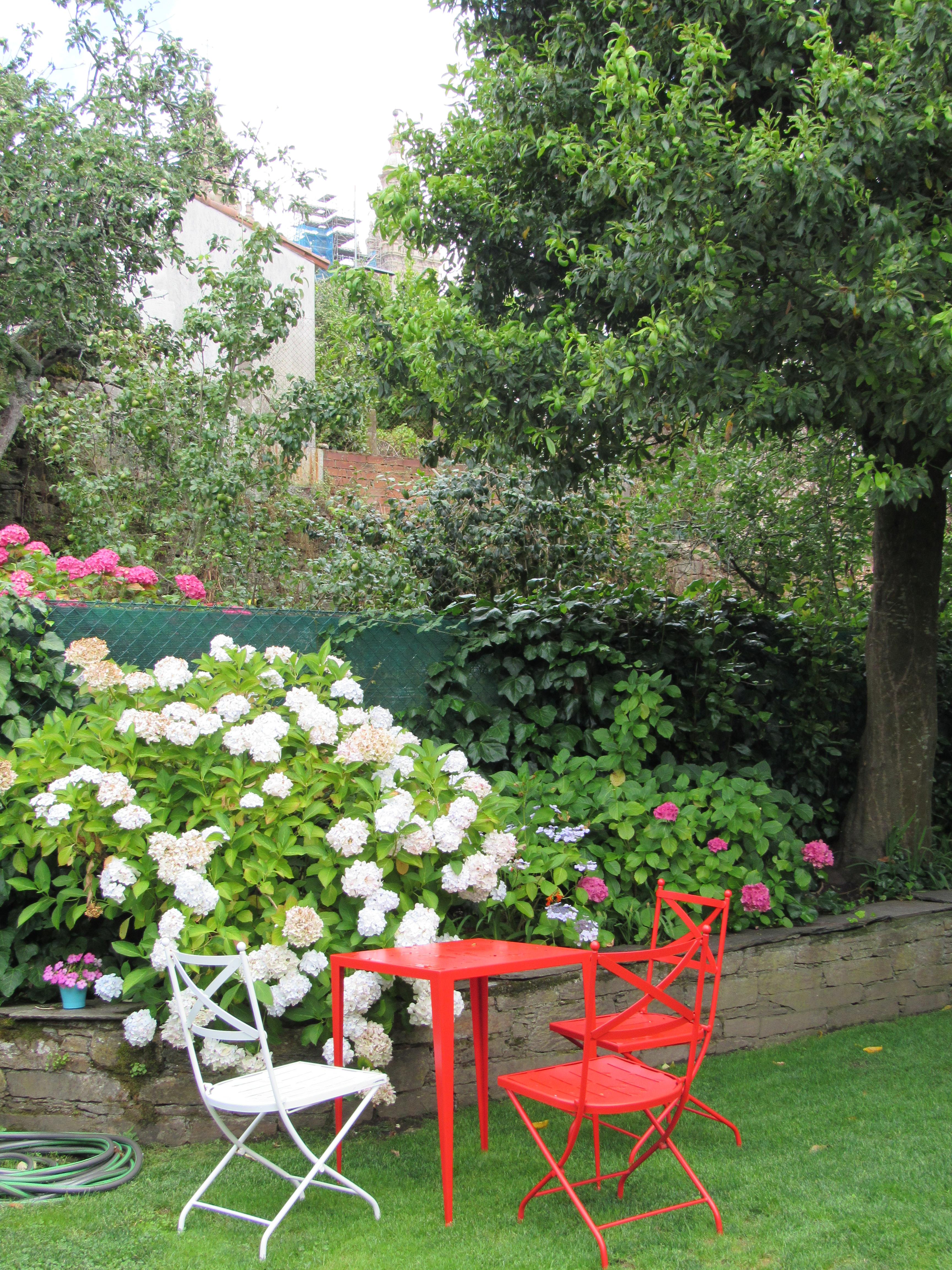 Jardín de A Horta do Obradoiro Kike Piñeiro