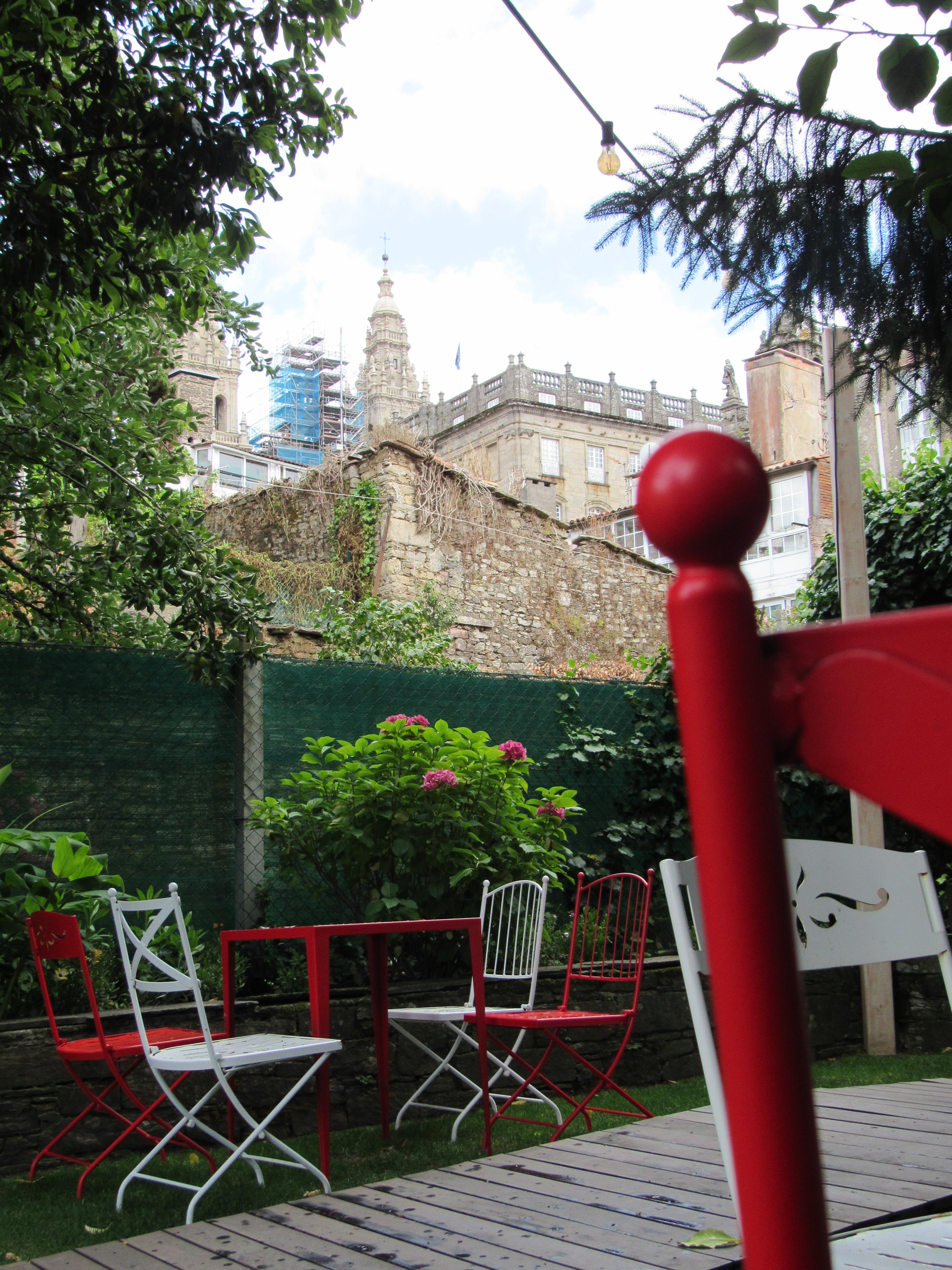 Catedral desde el Jardín de A Horta do Obradoiro Kike Piñeiro