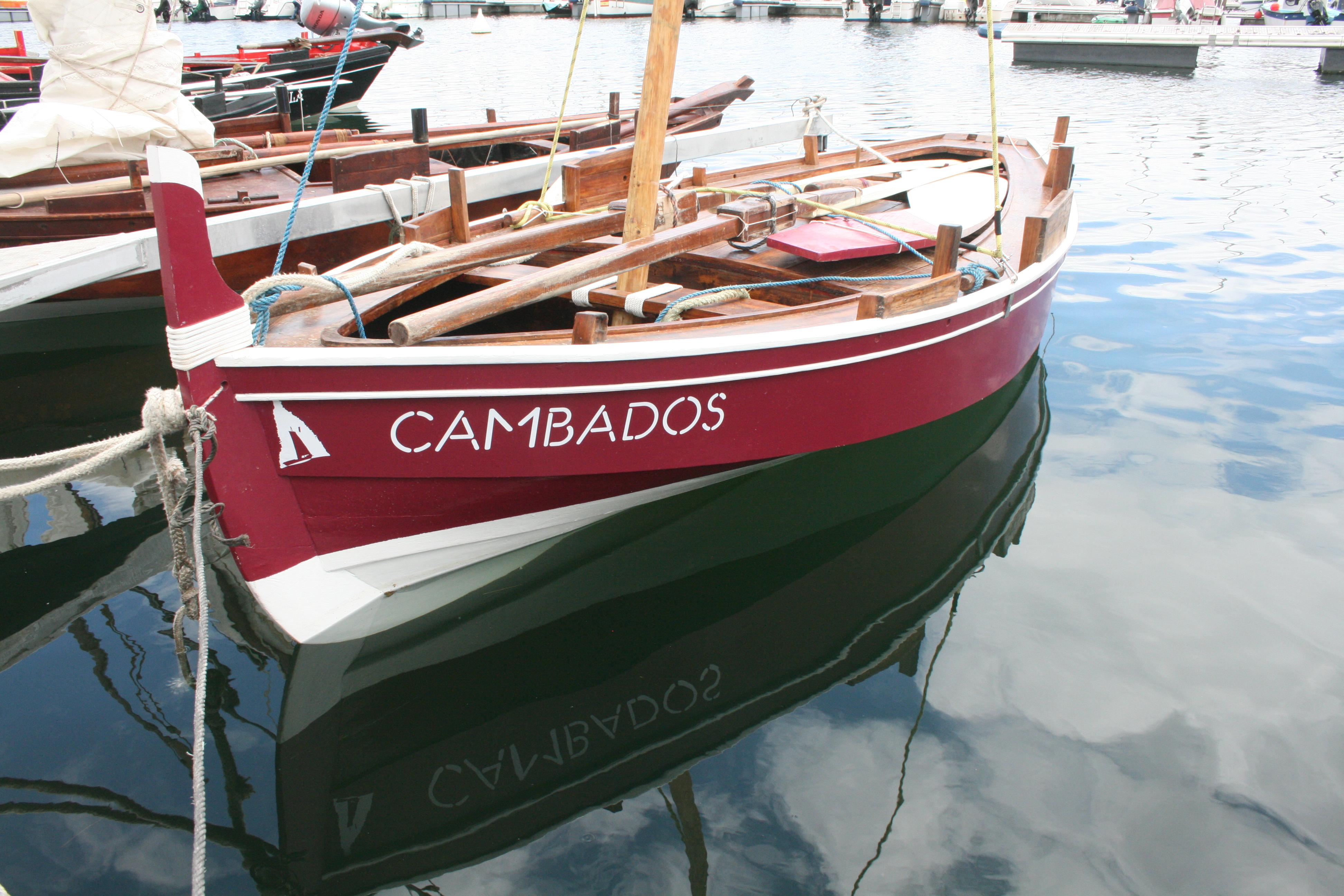 Barco atracado